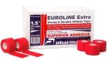 Тейп спортивный EUROLINE Extra красный