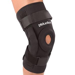 Фиксаторы, бандажи - Колено, Mueller Pro LevelTM Hinged Knee Brace - Deluxe,  ортопедия