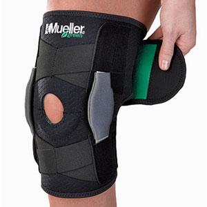 Фиксаторы, бандажи - Колено, Mueller Green Adjustable Hinged Knee Brace,  ортопедия