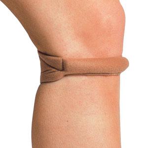 Фиксаторы, бандажи - Колено, Mueller CHO PAT® Knee Strap,  ортопедия