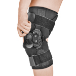 Фиксаторы, бандажи - Колено, Pharmacels Hinged Wraparound Knee Brace Deluxe,  ортопедия