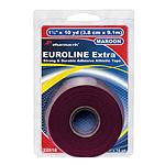 Жесткий и прочный спортивный тейп бордовый EUROLINE Extra Tape Pharmacels