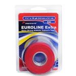 Жесткий и прочный спортивный тейп красный EUROLINE Extra Tape Pharmacels