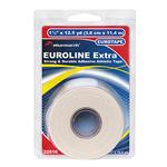 Жесткий и прочный спортивный тейп белый EUROLINE Extra Tape Pharmacels